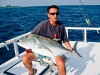 60lb GT caught while fishing in the Maldives