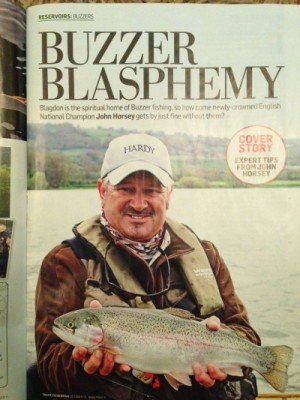 My Blagdon article in Nov Issue of Trout Fisherman Magazine