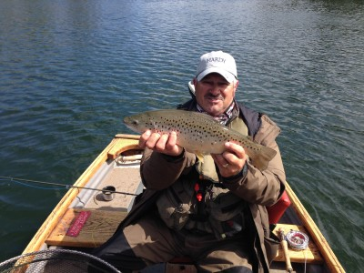 Me with a decent Chew brownie taken on a dry fly