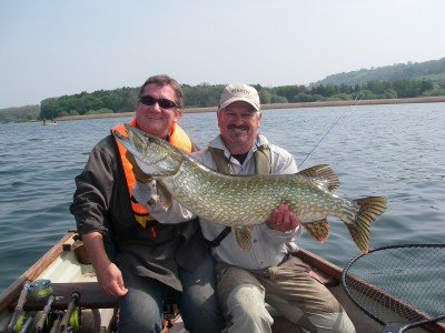 Andrew Cadman with his 24lb pike