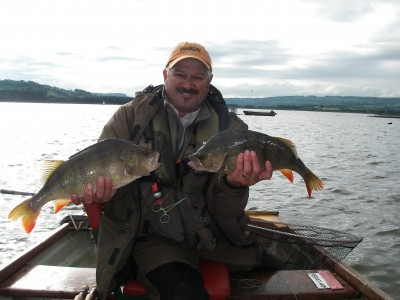 My best ever brace of Chew perch at 3:11 and 3:09