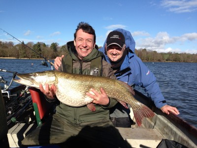 Neil Leaver and his 32:08 Chew pike