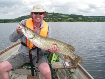 Vincent Middleton andf a 19lb Chew fish