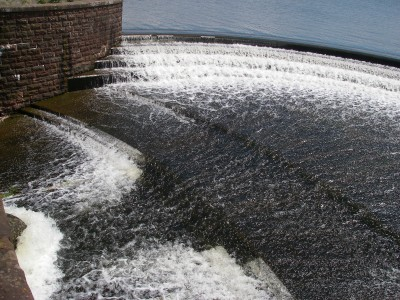 Millions of gallons of water heading back into the River Chew