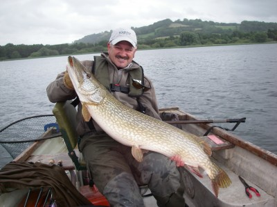 My 30lb 10oz Chew Pike