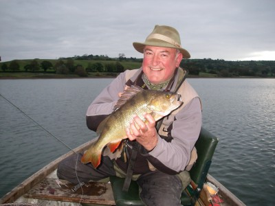 Bryan Brown's 3lb Blagdon Perch