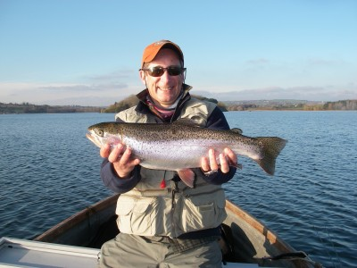 Tony Ling and 5lb Chew rainbow