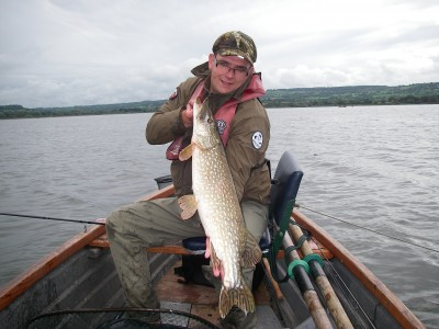 Rado with a cracking Chew pike