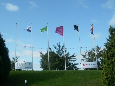 Sponsors Flags at Rutland