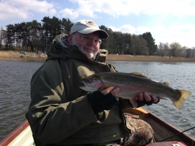 John Synnuck with another decent Chew Rainbow
