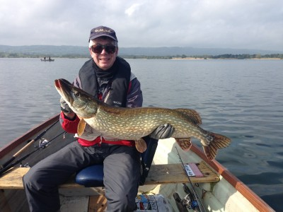 Stephen Bates 20lb lure caught pike