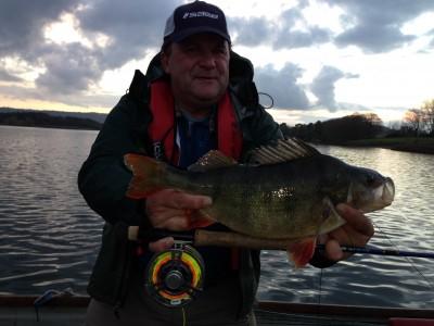 Rich Hart's Record IGFA fly tippet 3:10 Chew Perch