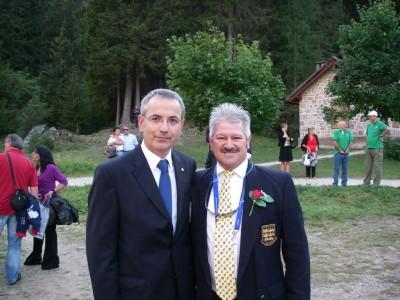 John and Valerio - World Champion