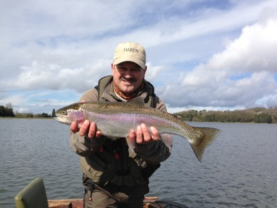 My overwintered 5lb 4oz Blagdon Rainbow