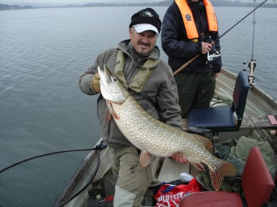 My biggest pike of the Trials at 27lbs