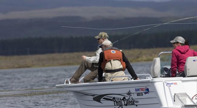 John fishing in New Zealand